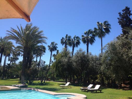 Dar Ayniwen Garden Hotel & Bird Zoo - Marrakech - Uima-allas
