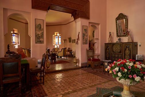 Dar Ayniwen Garden Hotel & Bird Zoo - Marrakech - Olohuone