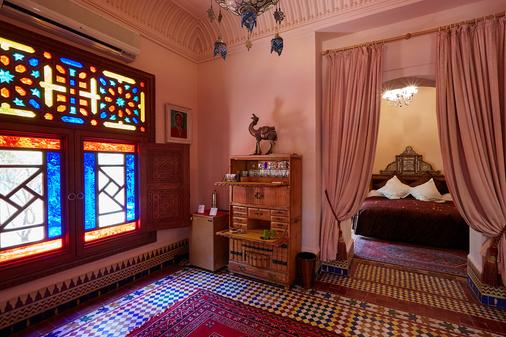 Dar Ayniwen Garden Hotel & Bird Zoo - Marrakesh - Bedroom