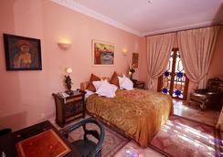 Dar Ayniwen Garden Hotel & Bird Zoo - Marrakech - Makuuhuone