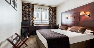 Hôtel Le Roosevelt - ליון - חדר שינה