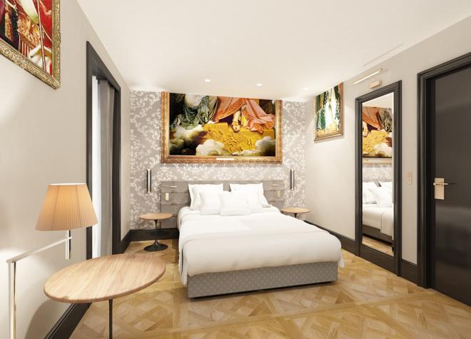 Hôtel Eiffel Petit Louvre - Paris - Bedroom
