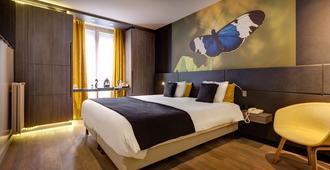 Hotel Elixir Paris - פריז - חדר שינה