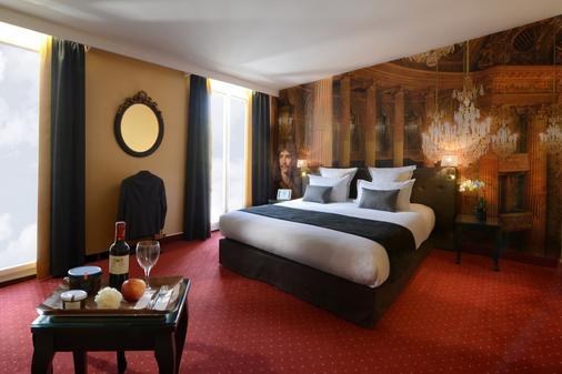 Hotel Le Versailles - Versailles - Schlafzimmer