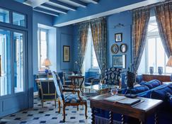 هوتل دي تواراس - سان-مارتين-دو-ري - غرفة معيشة