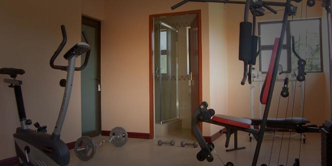 Cozy Nest Guest House - Durban North, Natal - Durban - Fitnessbereich
