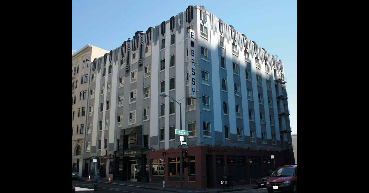 embassy hotel san francisco reviews