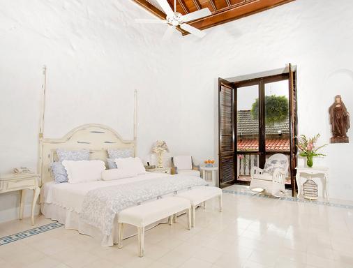 Casa Quero Hotel Boutique - Cartagena - Makuuhuone