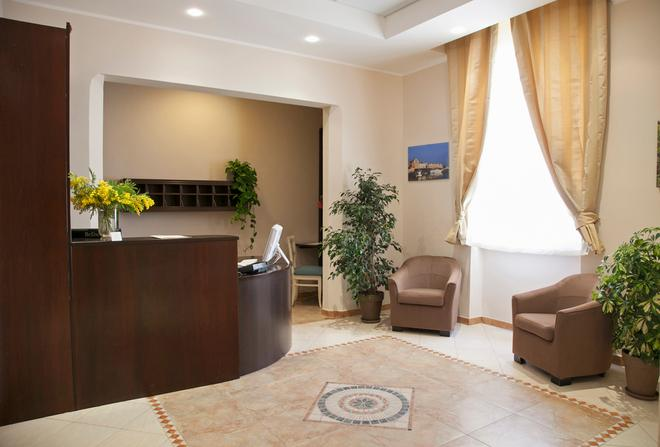 Hotel Le Muse - Siracusa - Front desk