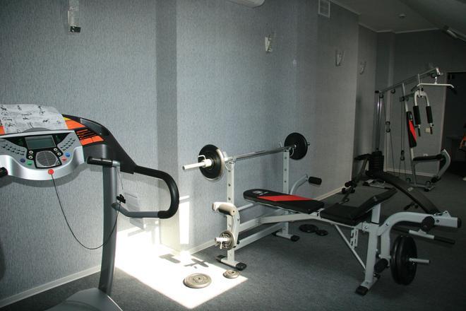 Korvet Hotel - Astrachan - Fitnessbereich