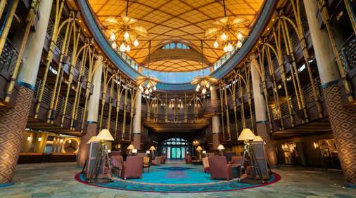 Disney Explorers Lodge - Hong Kong - Lobby