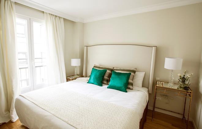 格蘭威亞斯普蘭頓套房酒店 - 馬德里 - 馬德里 - 臥室