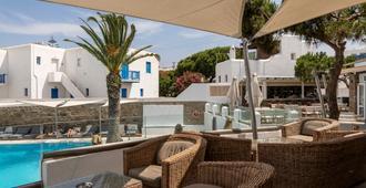 Poseidon Hotel & Suites - מיקונוס - פטיו