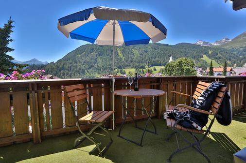 Hotel SILVRETTA - Serfaus - Balcony