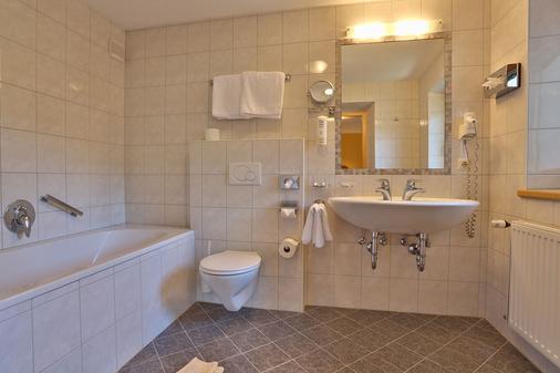 Hotel SILVRETTA - Serfaus - Bathroom