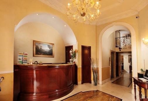 Hotel Solis - Rome - Front desk