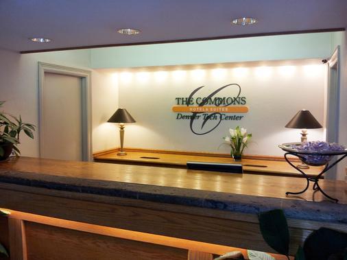 The Commons Hotel & Suites - Denver Tech Center - Centennial - Front desk