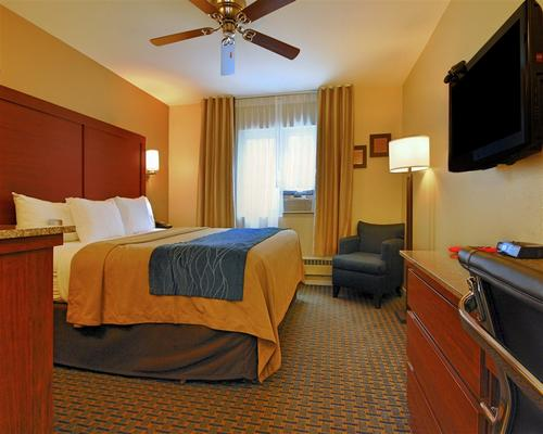 瓦斯燈凱富會議中心酒店 - 聖地牙哥 - 聖地亞哥 - 臥室