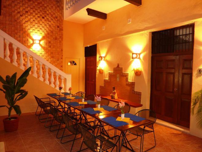 Hotel del Peregrino - Mérida - Dining room