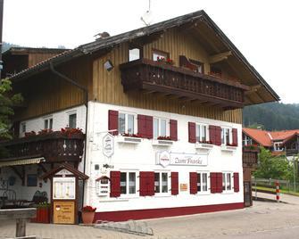 Landhotel Zum Franke - Pfronten - Gebouw