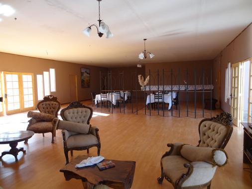Hotel Geiser del Tatio - San Pedro de Atacama - Living room