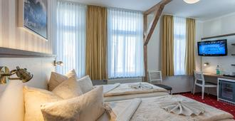 Hotel Weisse Düne - בורקום - חדר שינה