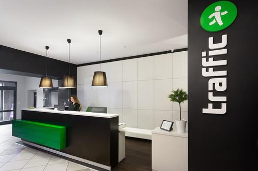 Traffic Hotel - Poznan - Front desk