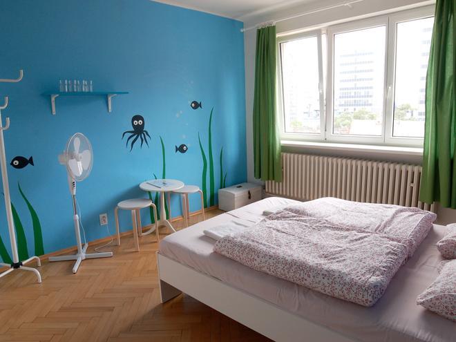 Patio Hostel - Братислава - Спальня
