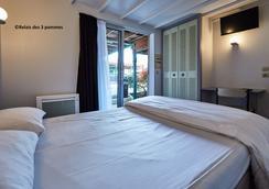 Relais des 3 Pommes - Bayeux - Phòng ngủ