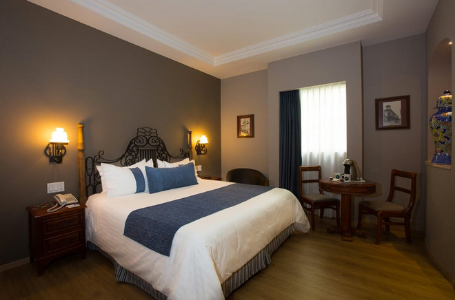 Hotel Zocalo Central - Mexico City - Bedroom