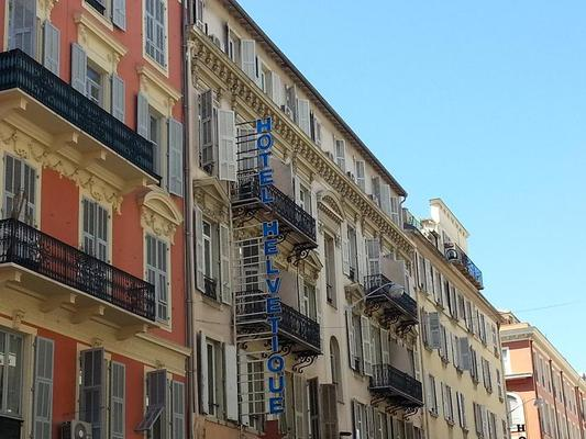Hôtel Helvétique - Nice - Toà nhà