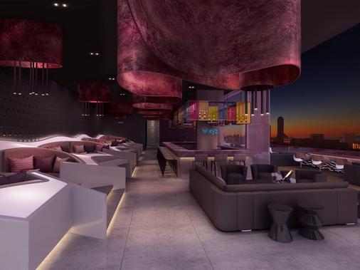 杜拜德伊勒市中心雅樂軒飯店 - 杜拜 - 酒吧