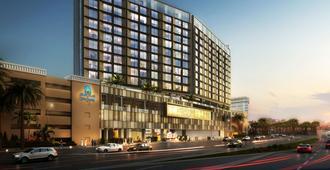 Aloft City Centre Deira, Dubai - Dubai - Building