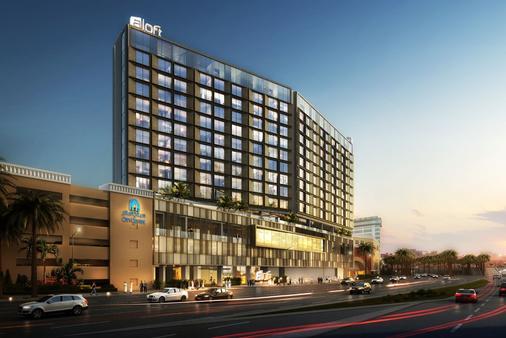 杜拜德伊勒市中心雅樂軒飯店 - 杜拜 - 建築