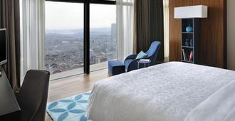Istanbul Marriott Hotel Sisli - Istanbul - Schlafzimmer