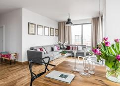 Old Town - River Point By Welcome Apartment - Gdansk - Phòng khách