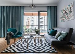 Old Town - River Point By Welcome Apartment - גדנסק - מגרש גולף