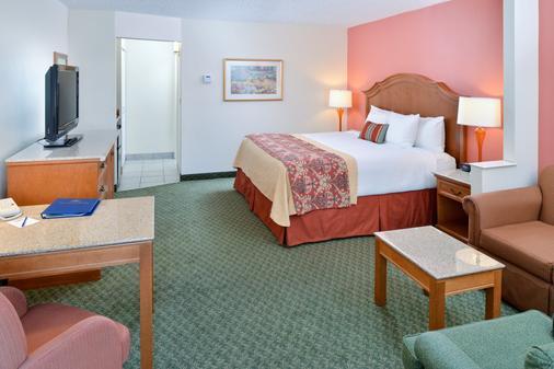貝斯特韋斯特普拉斯旅行酒店及套房 - 京曼 - 金曼 - 臥室