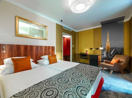 Hotel Capricorno - Wien - Makuuhuone