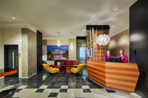 Hotel Capricorno - Wien - Vastaanotto
