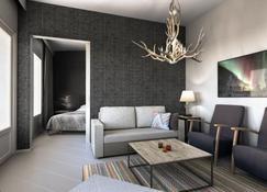 سانتا كلاوس هوليداي فيليدج - روفانيمي - غرفة معيشة