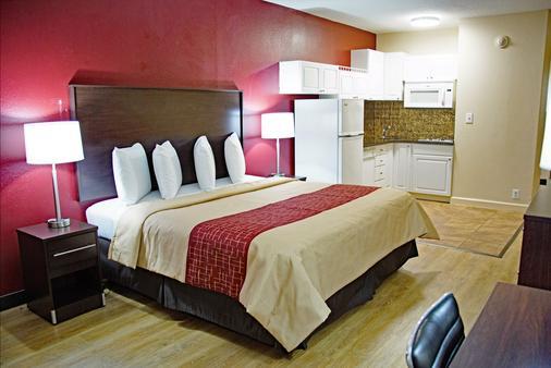 Red Roof Inn & Suites Jacksonville, NC - Jacksonville - Bedroom
