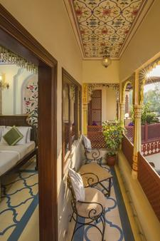 Umaid Bhawan - A Heritage Style Boutique Hotel - Jaipur - Ban công