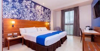 Hotel Gran Bilbao - Bilbao - Camera da letto