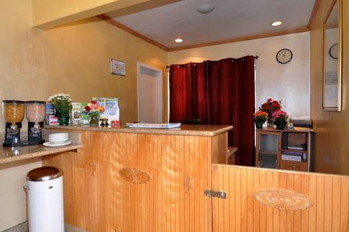 Presidio Inn - San Francisco - Front desk