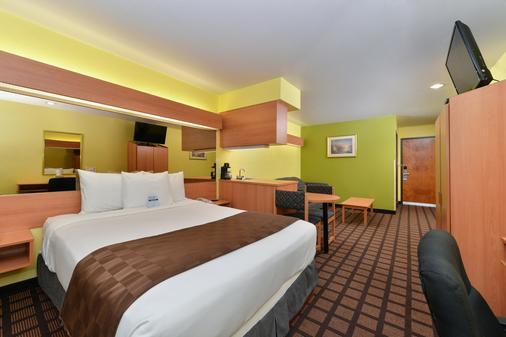 溫德姆堡麥克羅特套房酒店沃斯諾斯/艾特福斯爾酒店 - 沃斯堡 - 沃思堡 - 臥室