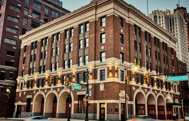 Detroit Foundation Hotel - Detroit - Rakennus