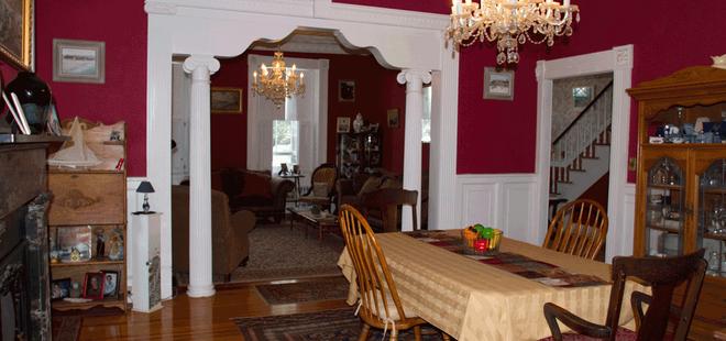 Historic Hill Inn - Newport - Dining room