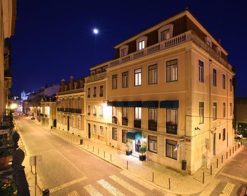 As Janelas Verdes - Λισαβόνα - Κτίριο