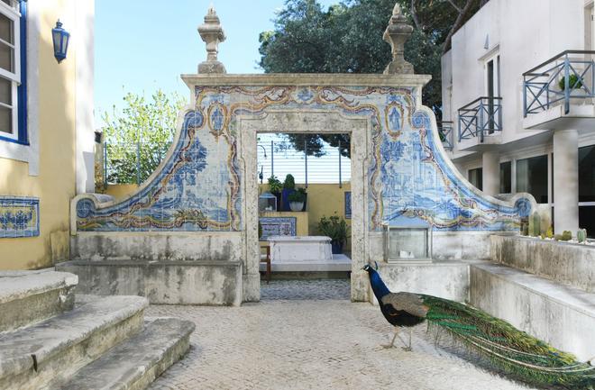Solar Do Castelo - Lisbon - Patio